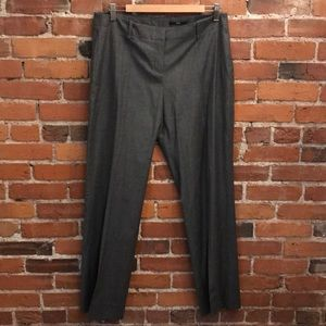 BOSS Hugo Boss Gray Virgin Wool Pants Size 10